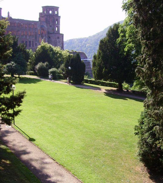 Schlossgarten Heidelberger Schloss