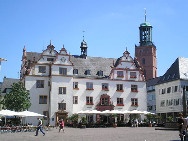Reiseziel Altes Rathaus Darmstadt
