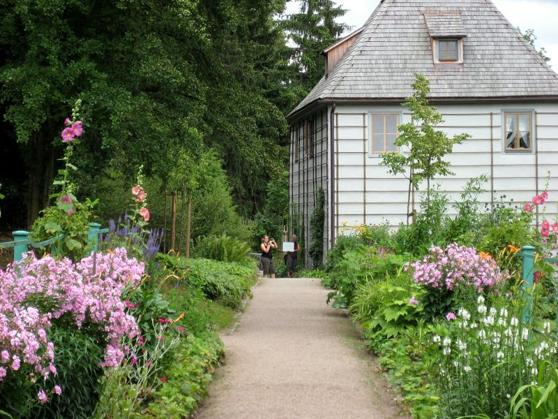 Reiseziel Goethes Gartenhaus