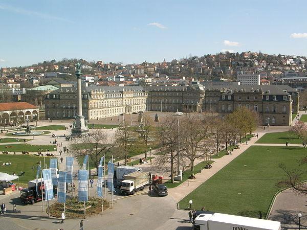 Neues Schloss und Schlossplatz