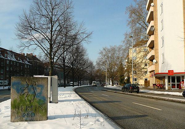 Berliner Bär an der Berliner Allee