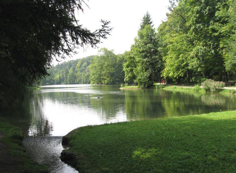 Park am Hinterbrühler See