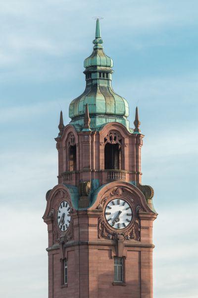 Reiseziel Uhrturm