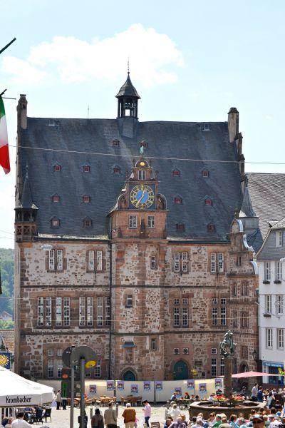 Reiseziel Rathaus Marburg