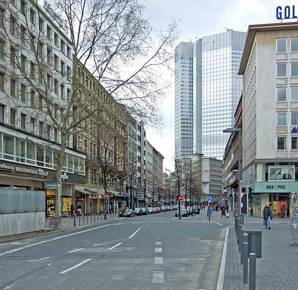 Reiseziel Kaiserstraße