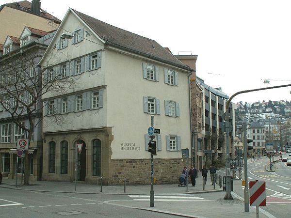 Reiseziel Hegel-Haus