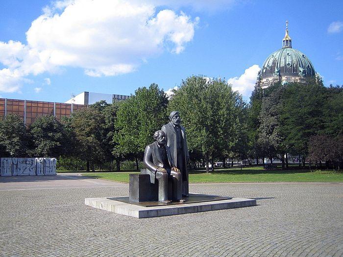 Reiseziel Marx-Engels Forum