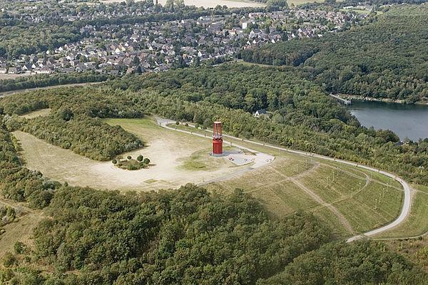 Halde Rheinpreussen - Geleucht