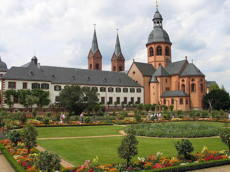 Ehemalige Benediktinerabtei und Klostergarten Seligenstadt