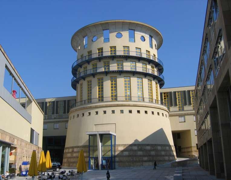 Reiseziel Turm der Musikhochschule