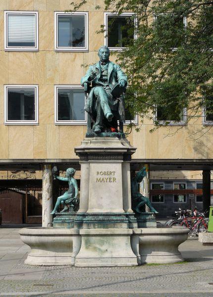 Reiseziel Denkmal Robert Mayer