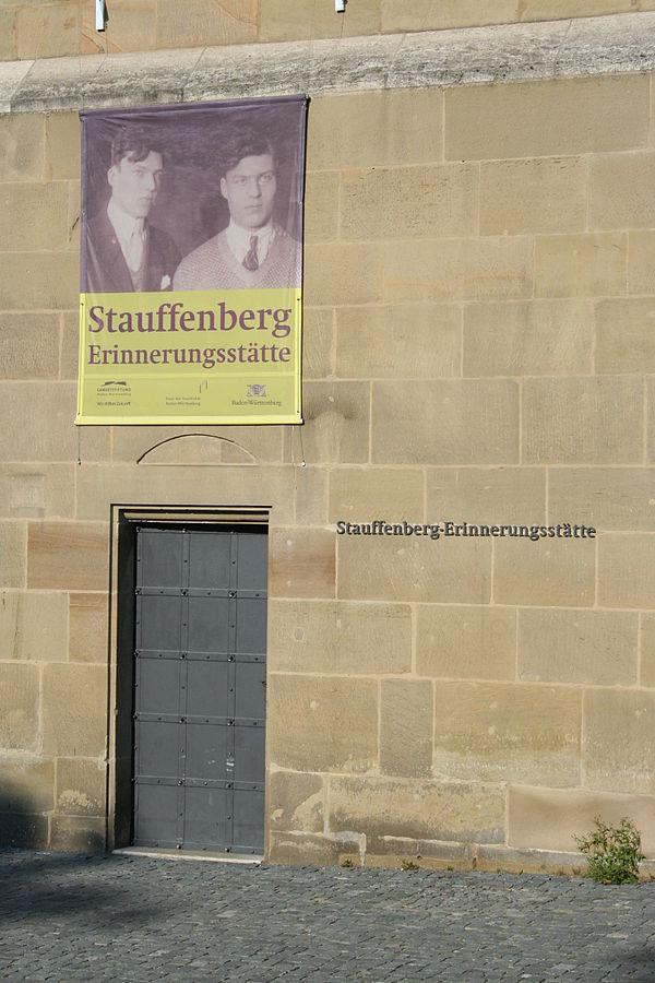 Reiseziel Stauffenberg-Erinnerungsstaette