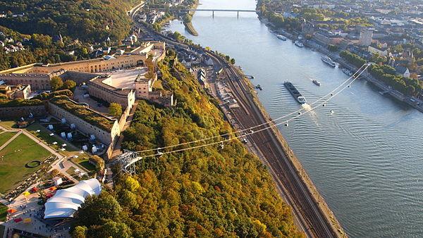 Seilbahn Koblenz (Start)