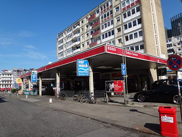 Reiseziel Esso-Station Reeperbahn