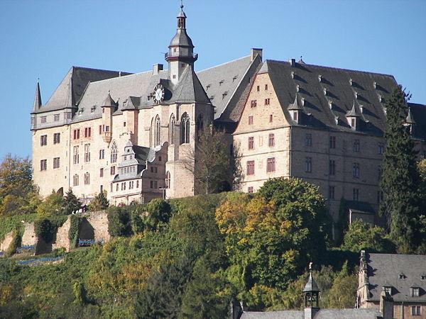 Reiseziel Landgrafenschloss Marburg