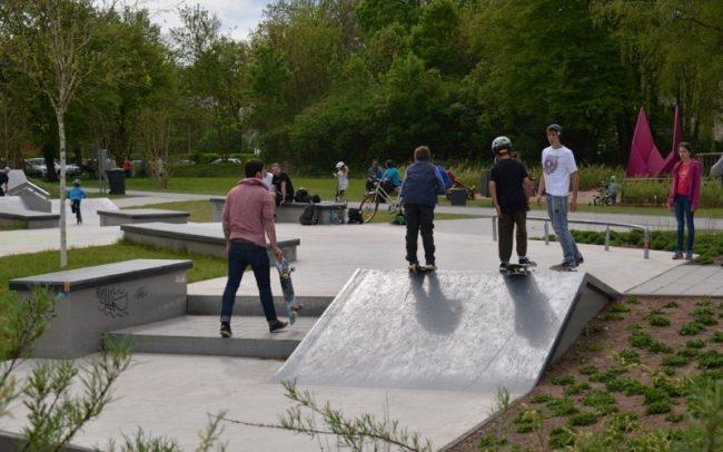 Skaterlounge Schwanenteich